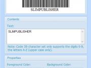 SlimPublisher 5 Barcode