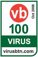 Kingsoft Internet Security VB100 Award October 2008