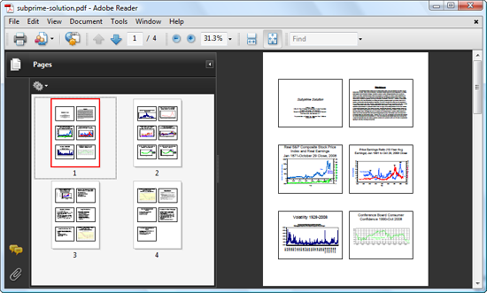 Export PPT as Slides to Adobe Reader