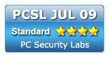 PC Security Labs July 2009 Standard Award for Kingsoft Internet Security