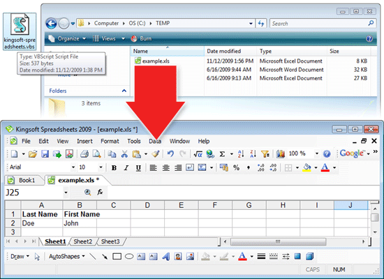 Kingsoft Office is compatible with Microsoft Office Visual Basic