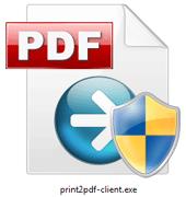 Print2PDF Prepare Custom Client