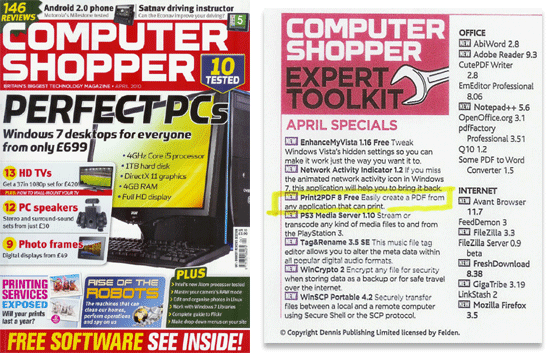 Computer Shopper (UK) April 2010 Issue