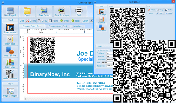 Use slimpublisher qr code generator to add 2d barcode to your slimpublisher4insertqrcode reheart Images