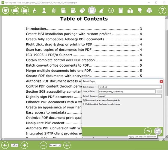PDF_Impress_Tools_Exrtract_pages