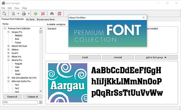 Premium Font Collection | BinaryNow